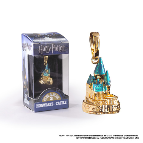 Gold color Hogwarts - Charm Lumos - Harry Potter