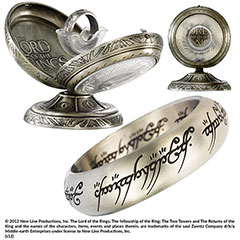 NN1291-One Ring Stainless Steel  - The Lord of the Rings