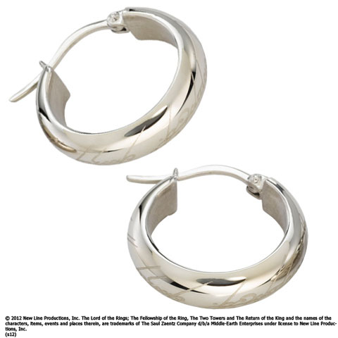 The Hobbit - One Ring Earring, Stainless Steel