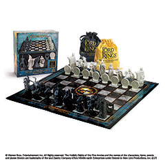 NN2174-Lord of the rings Chess Set: Battle for Middle-Earth