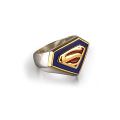 NN4002-Superman Returns™ - Emblem Ring