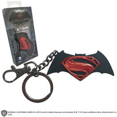 NN4124-DC - Batman VS Superman Logo llavero
