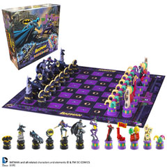 NN4680-Batman - Batman Chess Set (Dark Knight vs Joker)