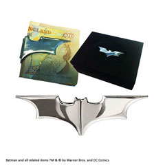 NN4936-The Batarang™ - Folding Money Clip - Black chrome