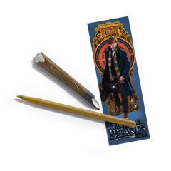 NN5011-FB - Newt's wand pen and bookmark