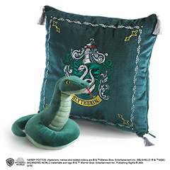 NN7043-Slytherin House Plush and Cushion - Harry Potter