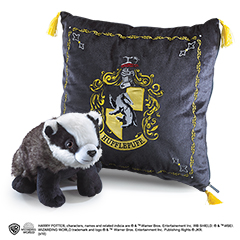 NN7045-Hufflepuf House Plush and Cushion - Harry Potter