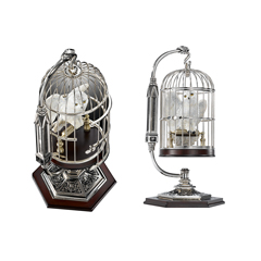 NN7098-Miniature Hedwig and Cage