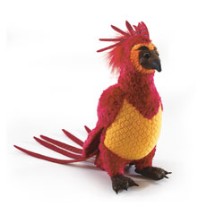 NN7559-Fawkes the Phoenix Small Plush - Harry Potter