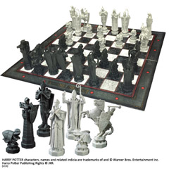NN7580-Wizard Chess Set - Harry Potter
