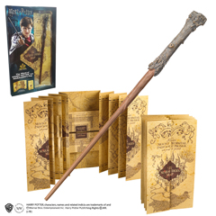NN7978-Harry Potter Wand and Marauders Map - Blister