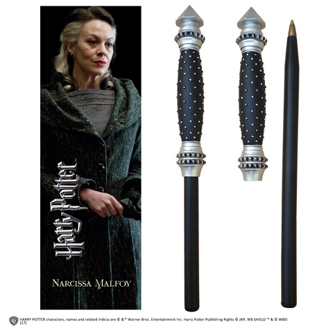 Narcissa Malfoy Wand Pen & Bookmark