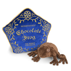 NN8922-Chocolate Frog cushion and plush - Harry Potter