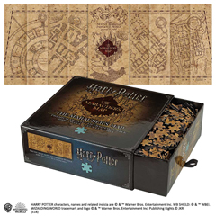 NN9457-Puzzle - The Marauder's Map Cover