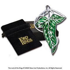 NN9831-Replica - Leaf of Lorien - brooch - The Lord of the Rings