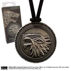 NNXT0090-Game of Thrones - Stark Shield Pendant (costume)