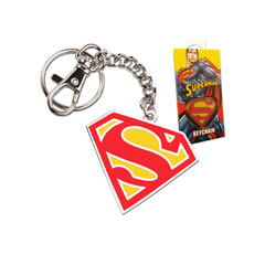 NNXT8360-Superman 5cm Colour Logo Keychain