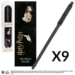 OFFRE_NOBLE-NN6323 - Severus Snape's Wand with 3D bookmark x 9