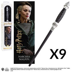 OFFRE_NOBLE-NN6328 - Narcissa Malfoy's Wand with 3D bookmark x 9