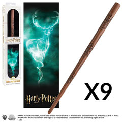 OFFRE_NOBLE-NN6329 - James Potter's Wand with 3D bookmark x 9