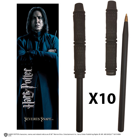 OFFRE_NOBLE-NN7990 - Snape Wand Pen & Bookmark x 10
